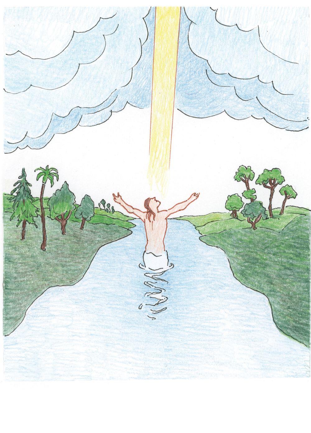 Taufe Des Herrn Evangelium In Leichter Sprache