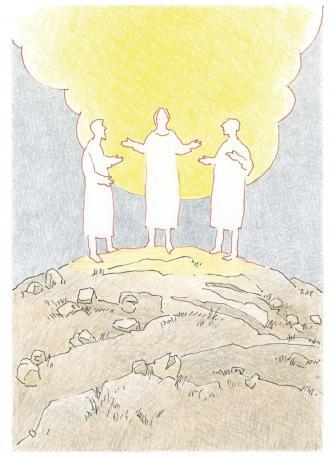 Petrus, Jakobus und Johannes erleben erstaunliche Sachen mit Jesus.