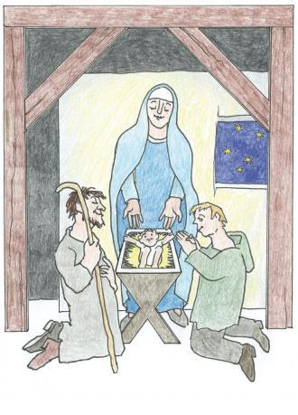 Jesus ist geboren.
