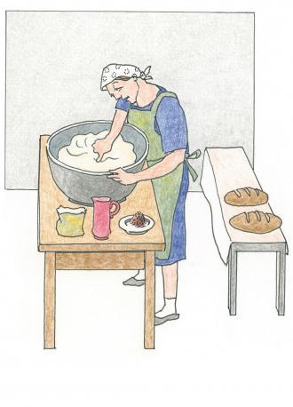 Das Beispiel vom Brot-Backen